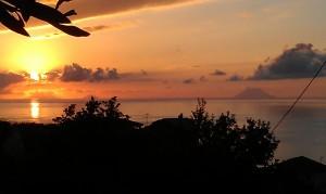 Stromboli sunset
