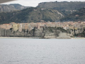Tropea from the boat