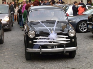 Tropea wedding car