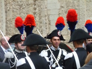 Tropea wedding guards