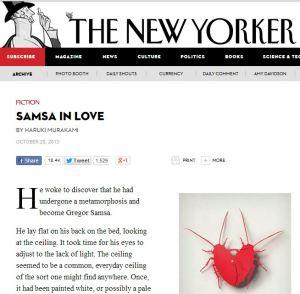 New Yorker Murakami