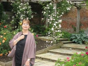 Dee in the Garsington Garden