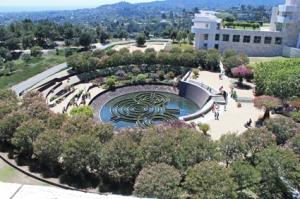 Getty Center gardens