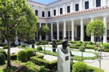 Getty Villa sculpture court