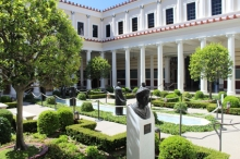 Getty Villa sculpture court