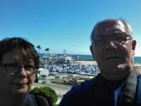Santa Monica selfie