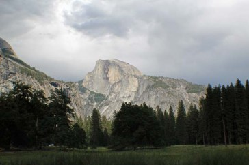 Half dome from west