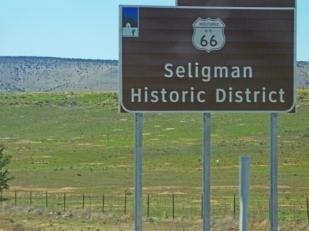 Seligman sign