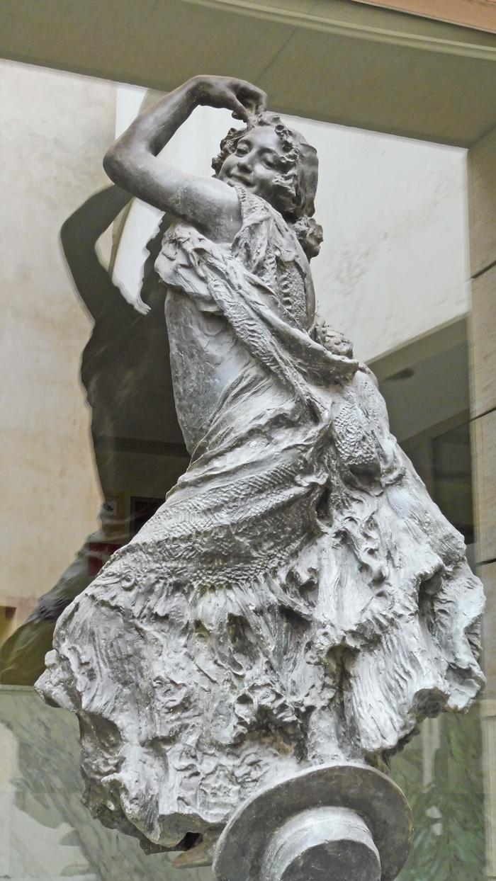 Flamenco Dancer - Mariano Benlliure sculptor