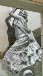 Flamenco Dancer - Mariano Benlliure sculptor