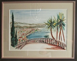 Mediterranean view by John Paddy Carstairs