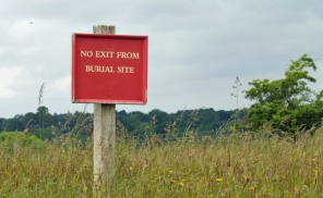 No Exit from Burial Site