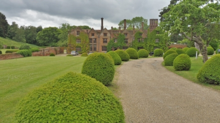 Seckford Hall Hotel and drive