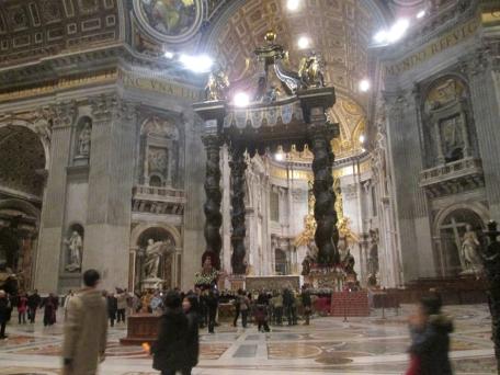 Santa Agnes altar