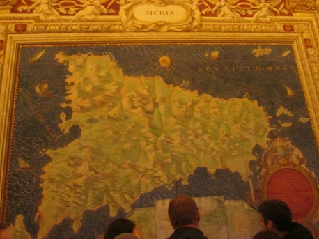 Sicily map room