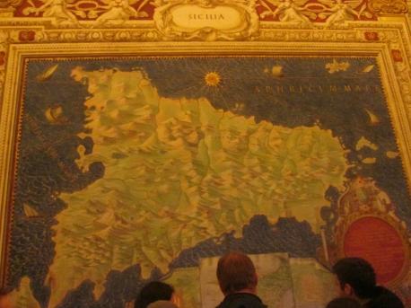 Sicily map room