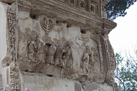 Titus Arch Jerusalem