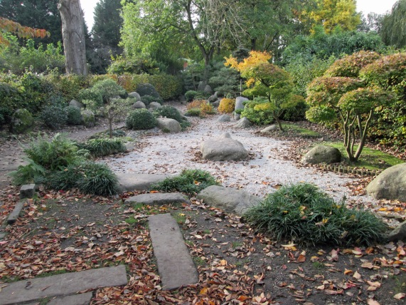Walkden Garden Japan Garden rocks